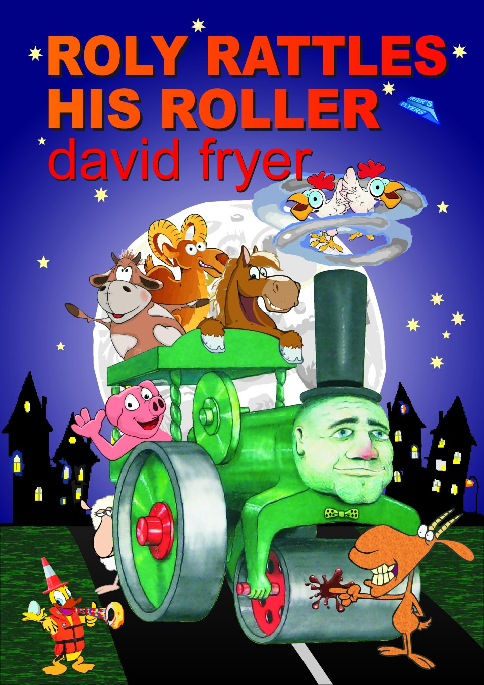Roly Rattles His Roller, Cover (2)